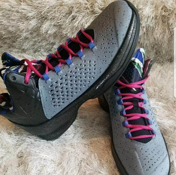4fc998f81e2d Nike Air Jordan Melo M11 Blue Graphite Silver Roya